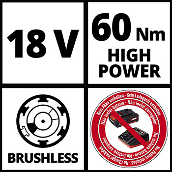 Einhell akumulatorska bušilica Power X-Change TE-CD 18 Li Brushless - Solo-7