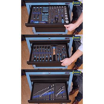 e4c05efd015a9f Hazet kolica za alat sa 3 fioke alata (147 kom) HZ-178N-7/147 ...